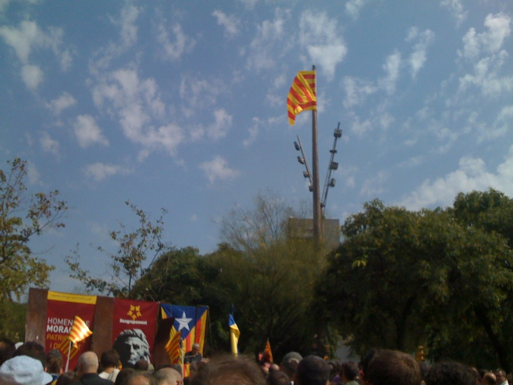 Senyera al vent